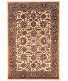 RugStudio presents Safavieh Classic CL359C Ivory / Red Hand-Tufted, Best Quality Area Rug