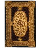 RugStudio presents Safavieh Classic CL755B Black Hand-Tufted, Best Quality Area Rug