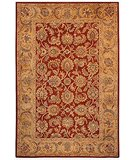 RugStudio presents Safavieh Classic CL758K Rust / Camel Hand-Tufted, Best Quality Area Rug