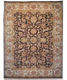 RugStudio presents Safavieh Dynasty DY239A Cola / Beige Hand-Knotted, Better Quality Area Rug