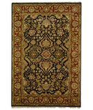 RugStudio presents Safavieh Dynasty DY250A Black / Red Hand-Knotted, Better Quality Area Rug
