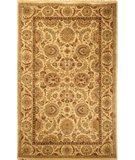 RugStudio presents Rugstudio Sample Sale 49801R Ivory / Ivory Hand-Knotted, Better Quality Area Rug