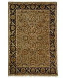RugStudio presents Safavieh Dynasty DY251B Camel / Black Hand-Knotted, Better Quality Area Rug