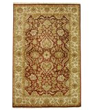 RugStudio presents Rugstudio Sample Sale 49803R Rust / Ivory Hand-Knotted, Better Quality Area Rug