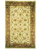 RugStudio presents Safavieh Dynasty DY254A Ivory / Red Hand-Knotted, Better Quality Area Rug