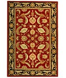 RugStudio presents Safavieh DuraRug EZC454A Red Hand-Hooked Area Rug