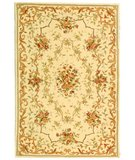 RugStudio presents Safavieh French Tapis FT217B Ivory / Ivory Hand-Tufted, Best Quality Area Rug