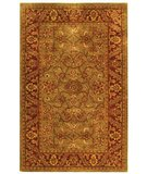 RugStudio presents Safavieh Golden Jaipur GJ250A Green / Rust Hand-Tufted, Best Quality Area Rug