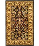 RugStudio presents Safavieh Golden Jaipur GJ250D Black / Gold Hand-Tufted, Best Quality Area Rug