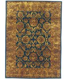 RugStudio presents Rugstudio Sample Sale 46732R Navy / Gold Hand-Tufted, Best Quality Area Rug