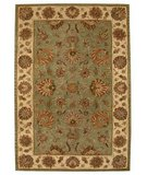RugStudio presents Safavieh Heritage HG343A Green / Gold Hand-Tufted, Good Quality Area Rug