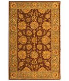 RugStudio presents Safavieh Heritage HG343J Brown / Blue Hand-Tufted, Best Quality Area Rug