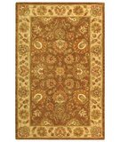 RugStudio presents Safavieh Heritage HG343K Brown / Ivory Hand-Tufted, Best Quality Area Rug