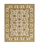 RugStudio presents Safavieh Heritage HG452A Ivory / Light Gold Hand-Tufted, Better Quality Area Rug