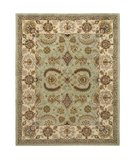 RugStudio presents Safavieh Heritage HG453A Light Green / Ivory Hand-Tufted, Better Quality Area Rug