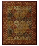 RugStudio presents Safavieh Heritage HG510B Multi / Red Hand-Tufted, Best Quality Area Rug