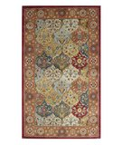 RugStudio presents Safavieh Heritage HG510B Multi / Red Hand-Tufted, Good Quality Area Rug