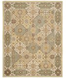 RugStudio presents Safavieh Heritage HG512C Multi / Ivory Hand-Tufted, Better Quality Area Rug