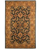 RugStudio presents Safavieh Heritage HG628A Dark Green / Gold Hand-Tufted, Better Quality Area Rug