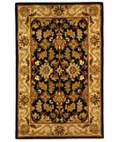 RugStudio presents Safavieh Heritage HG628B Black / Beige Hand-Tufted, Best Quality Area Rug