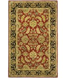 RugStudio presents Safavieh Heritage HG628C Red / Black Hand-Tufted, Best Quality Area Rug