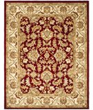 RugStudio presents Safavieh Heritage HG628D Red / Ivory Hand-Tufted, Good Quality Area Rug