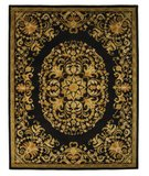 RugStudio presents Safavieh Heritage HG640B Black Hand-Tufted, Best Quality Area Rug