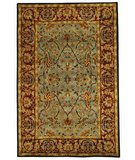 RugStudio presents Safavieh Heritage HG794A Light Blue / Red Hand-Tufted, Best Quality Area Rug