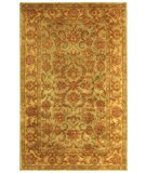 RugStudio presents Safavieh Heritage HG811A Green / Gold Hand-Tufted, Good Quality Area Rug