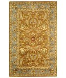 RugStudio presents Safavieh Heritage HG812A Brown / Blue Hand-Tufted, Best Quality Area Rug