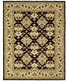 RugStudio presents Safavieh Heritage HG817B Espresso / Ivory Hand-Tufted, Best Quality Area Rug