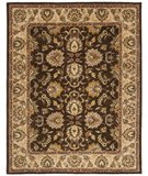 RugStudio presents Safavieh Heritage HG912A Brown / Ivory Hand-Tufted, Better Quality Area Rug