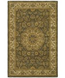 RugStudio presents Safavieh Heritage HG954A Green / Taupe Hand-Tufted, Best Quality Area Rug