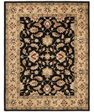 RugStudio presents Safavieh Heritage HG957A Black / Gold Hand-Tufted, Better Quality Area Rug
