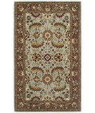 RugStudio presents Safavieh Heritage HG962A Blue / Brown Hand-Tufted, Better Quality Area Rug