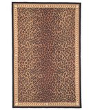 RugStudio presents Safavieh Chelsea HK15A Black / Brown Hand-Hooked Area Rug