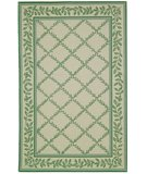 RugStudio presents Safavieh Chelsea HK230B Ivory / Light Green Hand-Hooked Area Rug