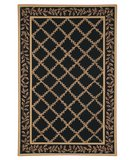 RugStudio presents Safavieh Chelsea HK230D Black / Gold Hand-Hooked Area Rug