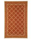 RugStudio presents Safavieh Chelsea HK230E Rust / Gold Hand-Hooked Area Rug
