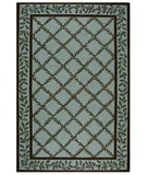 RugStudio presents Safavieh Chelsea HK230J Blue / Brown Hand-Hooked Area Rug