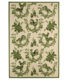 RugStudio presents Safavieh Chelsea HK262B Light Green Hand-Hooked Area Rug