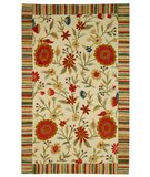 RugStudio presents Safavieh Jardin JAR211A Ivory Hand-Tufted, Better Quality Area Rug