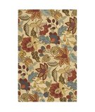 RugStudio presents Safavieh Jardin JAR952A Beige / Multi Hand-Tufted, Better Quality Area Rug