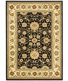 RugStudio presents Safavieh Lyndhurst LNH212A Black / Ivory Machine Woven, Better Quality Area Rug