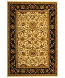 RugStudio presents Safavieh Lyndhurst LNH212B Ivory / Black Machine Woven, Good Quality Area Rug