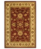 RugStudio presents Rugstudio Sample Sale 50049R Red / Ivory Machine Woven, Good Quality Area Rug