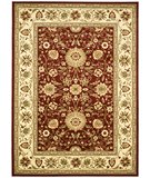RugStudio presents Safavieh Lyndhurst LNH212F Red / Ivory Machine Woven, Better Quality Area Rug
