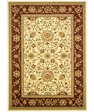 RugStudio presents Safavieh Lyndhurst LNH212K Ivory / Red Machine Woven, Better Quality Area Rug