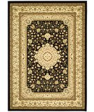 RugStudio presents Safavieh Lyndhurst LNH213A Black / Ivory Machine Woven, Better Quality Area Rug