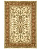 RugStudio presents Safavieh Lyndhurst LNH214R Ivory / Rust Machine Woven, Better Quality Area Rug